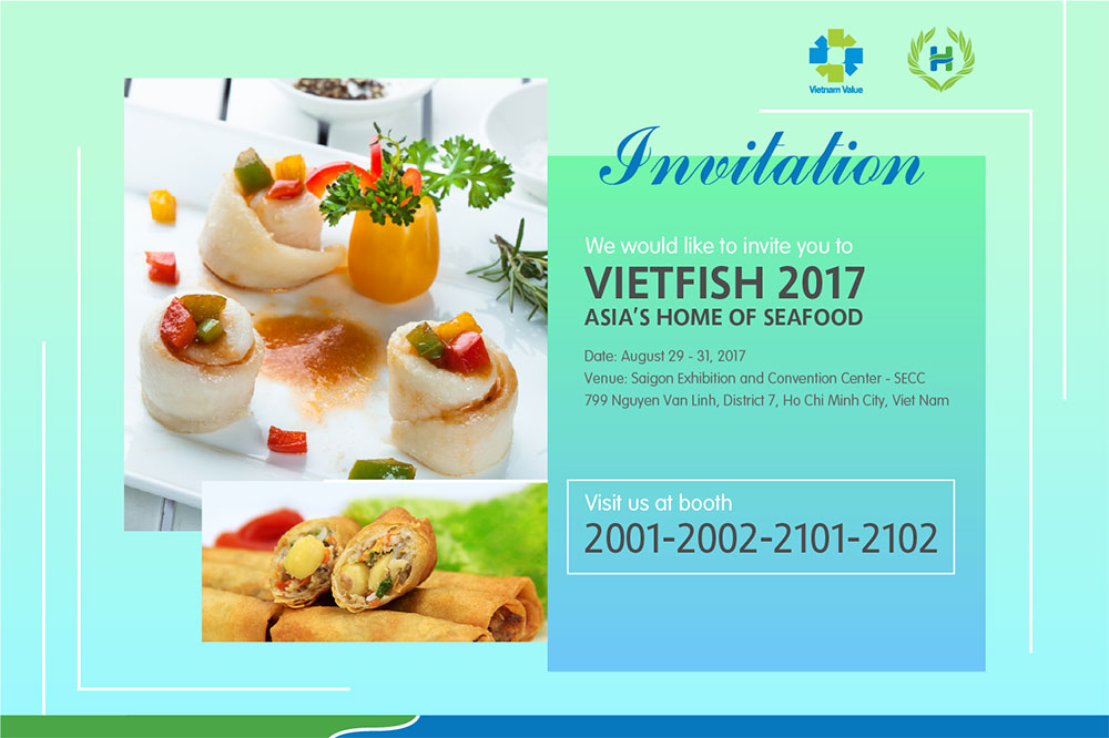 Invitation Letter Exhibition Booth : Invitation letter to vietnam fisheries international